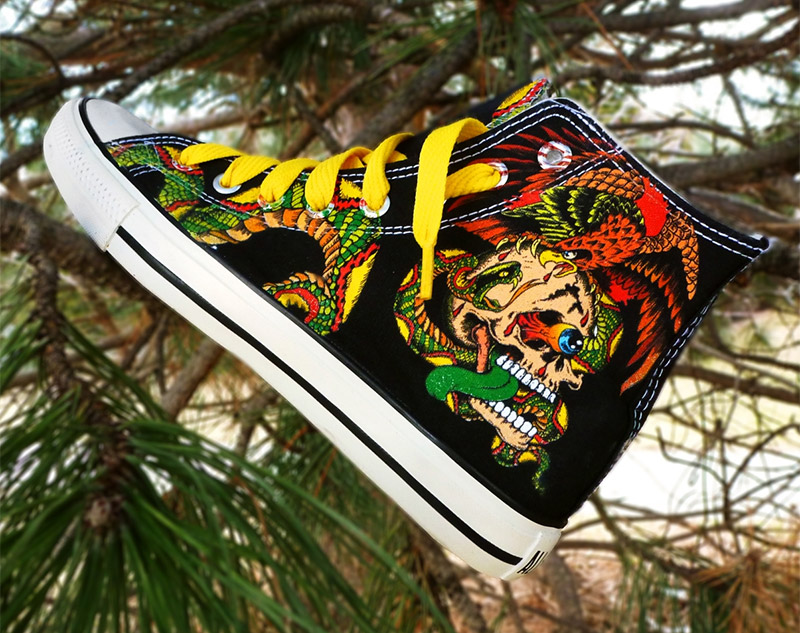 Woodies Custom Kicks
