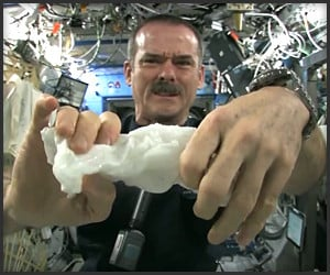 Wringing out Water in Space