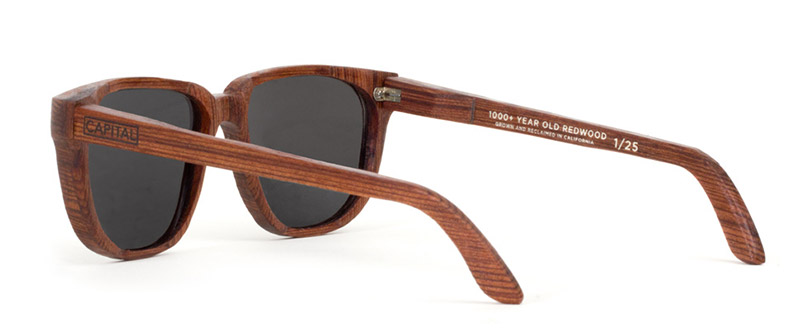1,000+ Year Redwood Sunglasses