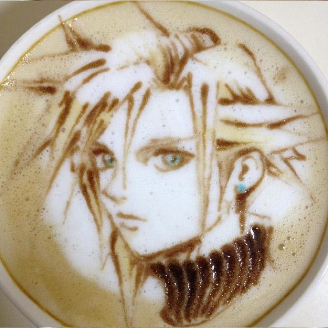 Color Coffee Art
