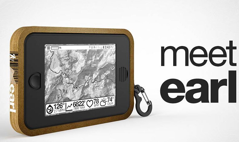Earl Solar-Powered Tablet