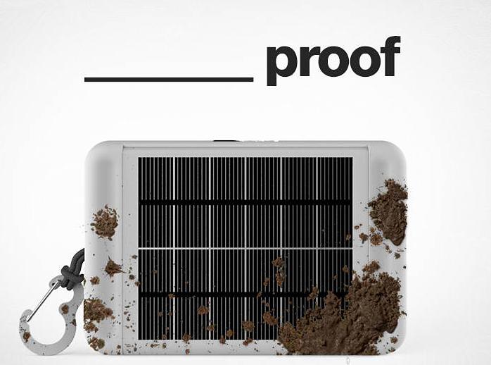 Earl Solar-Powered Tablet