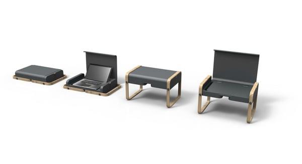 Envol Desk Concept pop out