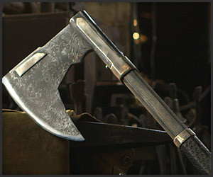 Forging Gimli's Bearded Axe