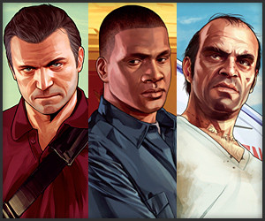 GTA V: Michael. Franklin. Trevor.
