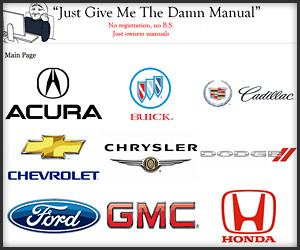 Just Give Me the Damn Manual