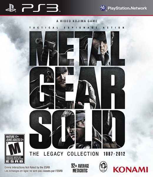 MGS: The Legacy Collection