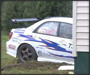 Rally Car vs. House