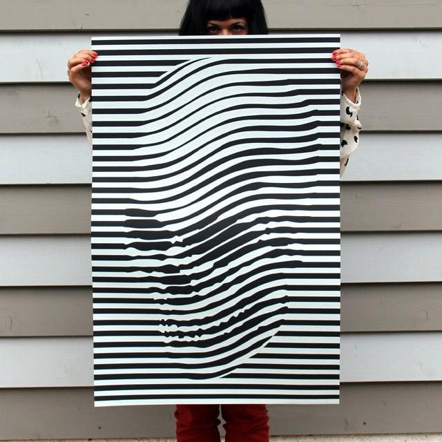 Skulledelic Poster Print