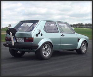 1,000HP Volkswagen Golf