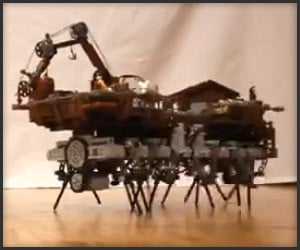 LEGO Walking Machine
