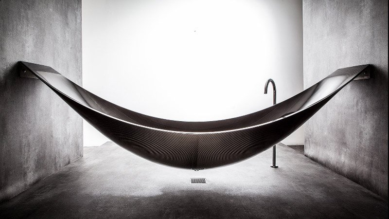 Carbon Fiber Hammock Tub The Awesomer