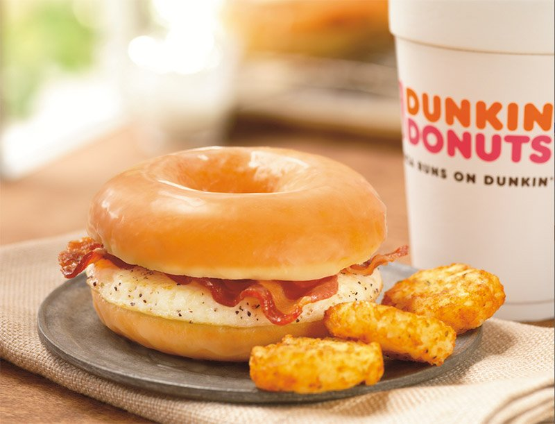 Bacon Donut Sandwich