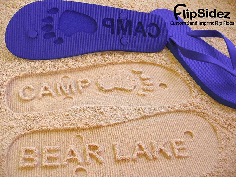 FlipSides Engraved Flip-Flops