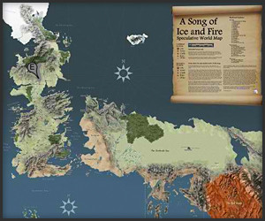 Interactive Game of Thrones Map