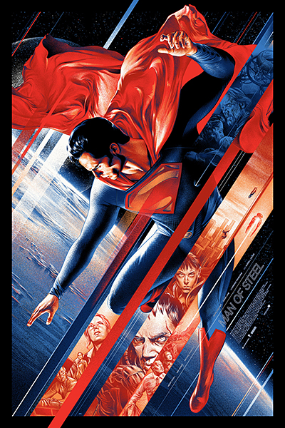 Mondo Man of Steel Posters