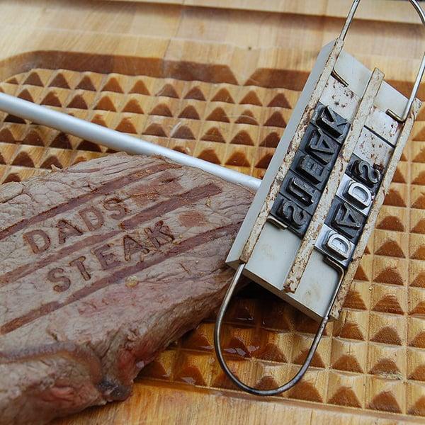 Personalized Steak Branding Iron