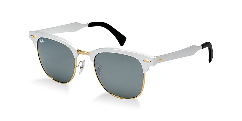 Ray Ban Clubmaster Aluminum The Awesomer