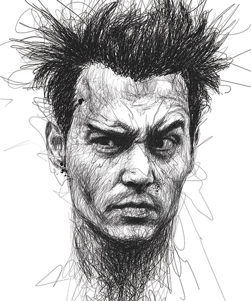 Scribble Portraits