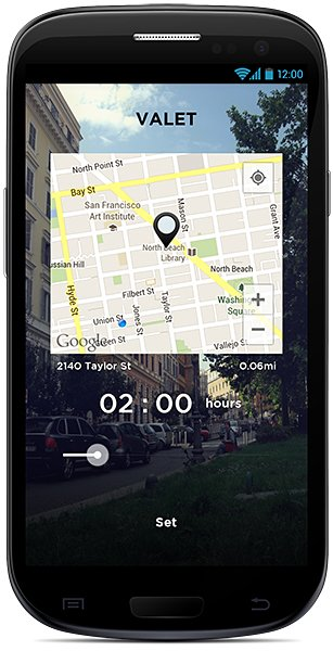 Valet Car Locator for Android