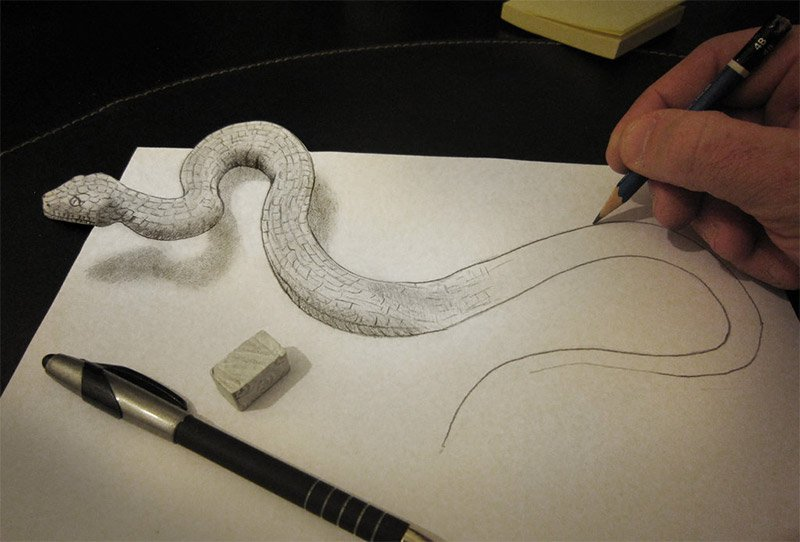 3D Pencil Sketches