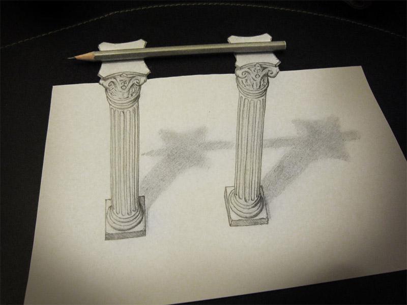 3D Pencil Sketches