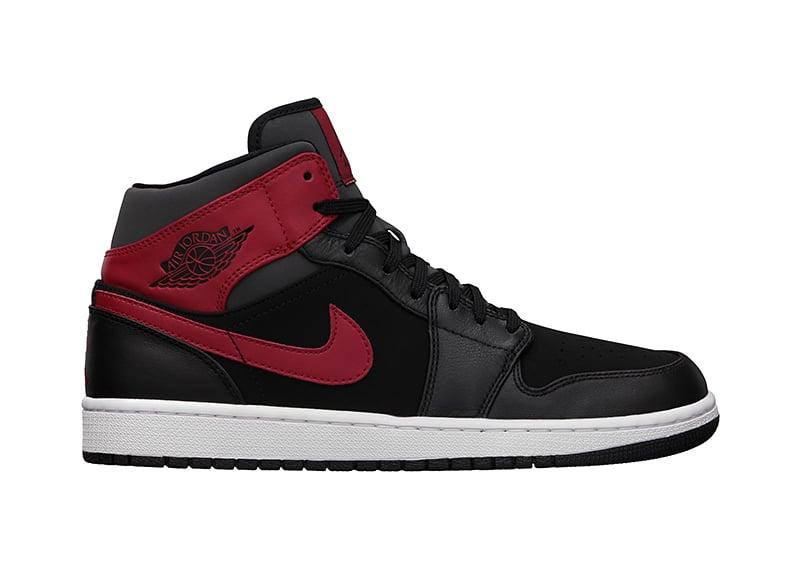 Air Jordan 1 Mid Black/Red
