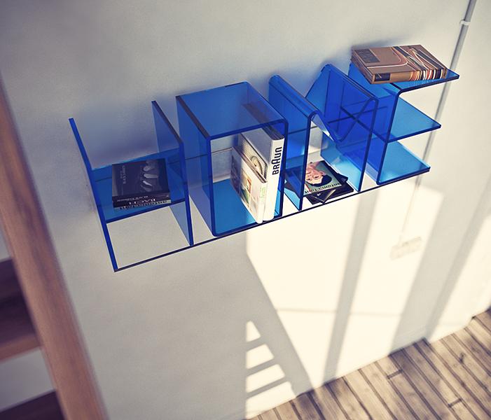 Anita Letter Shelf