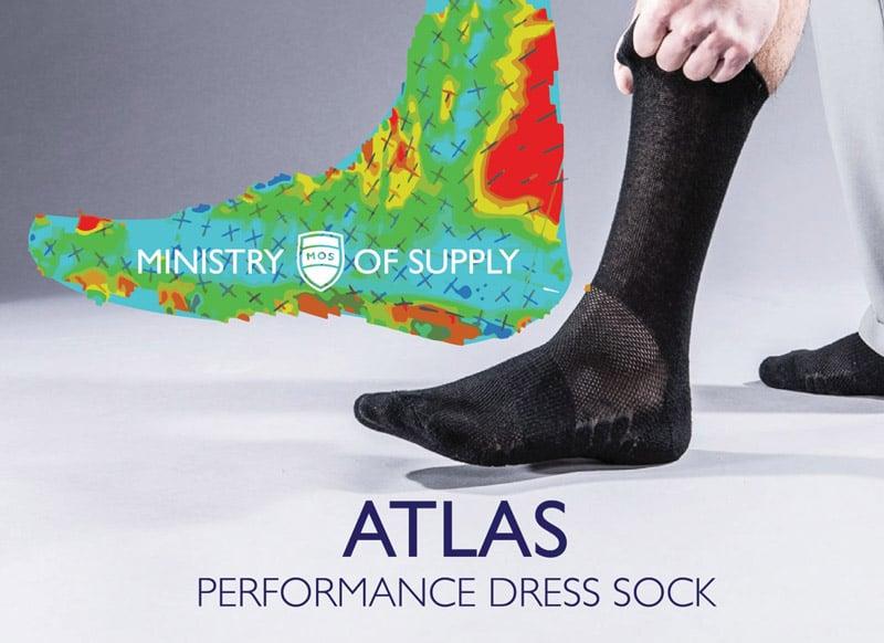 Atlas Performance Dress Socks