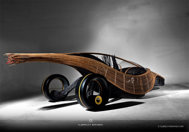 Phoenix Bamboo Concept Car The Awesomer
