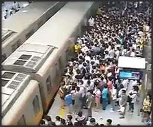 Beijing Subway Rush Hour