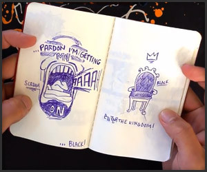 Black Skinhead: Moleskine Video