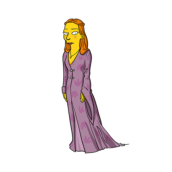 Game of Thrones Simpsonized