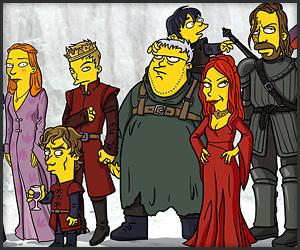 Game Of Thrones Simpsonized