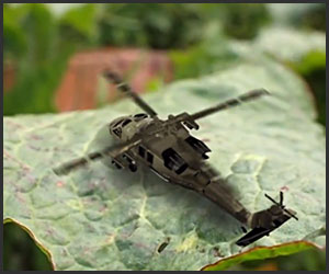 Garden Defense Helicopter