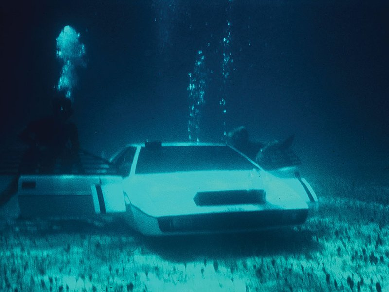 James Bond S Submarine Car