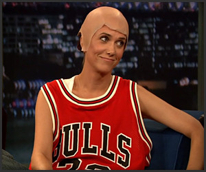 Kristen Wiig is Michael Jordan