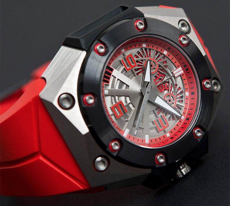 Oktopus II Titanium Red
