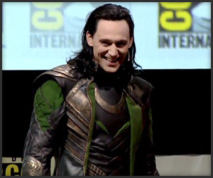 Loki Invades Comic-Con