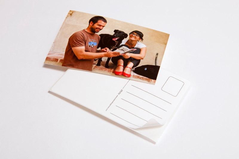 Postick Stick-on Postcard