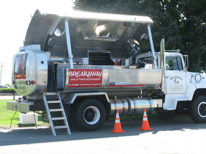 Tanker Truck BBQ Grill