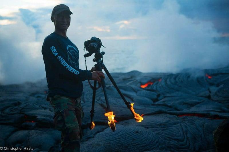 Volcano Photographer