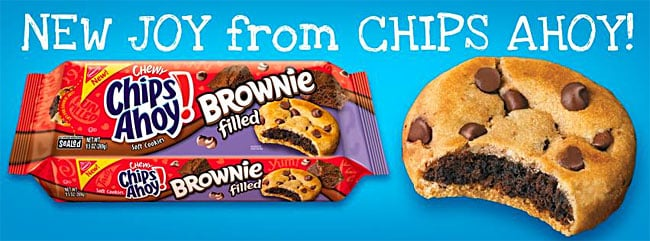 Brownie Filled Chips Ahoy!