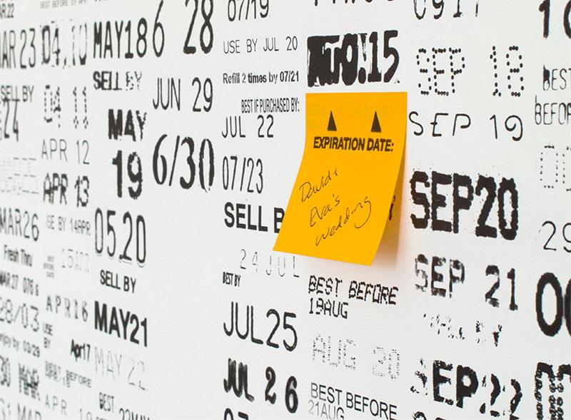 Expiration Date Calendar