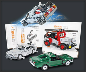 Giveaway: Ichiban Toys LEGO Cars