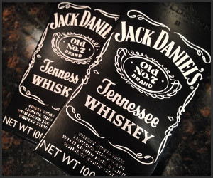 Jack Daniel's Chocolate Bars
