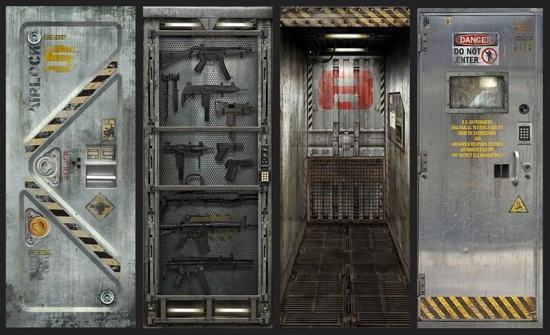 Giveaway: MetalCore Door Decal