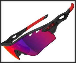 Oakley Radarlock Path Red Iridium