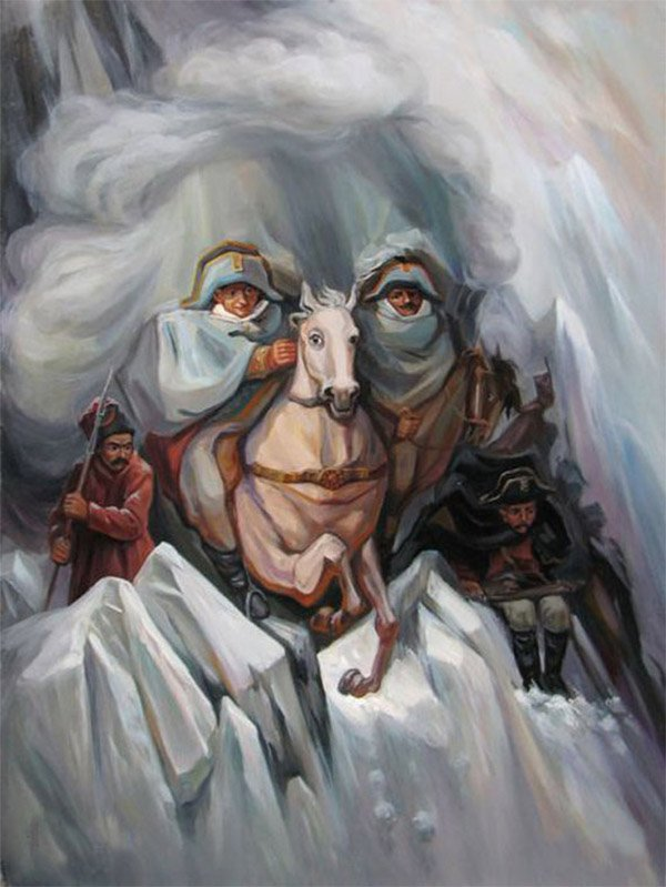 Optical Illusion Paintings - The Awesomer