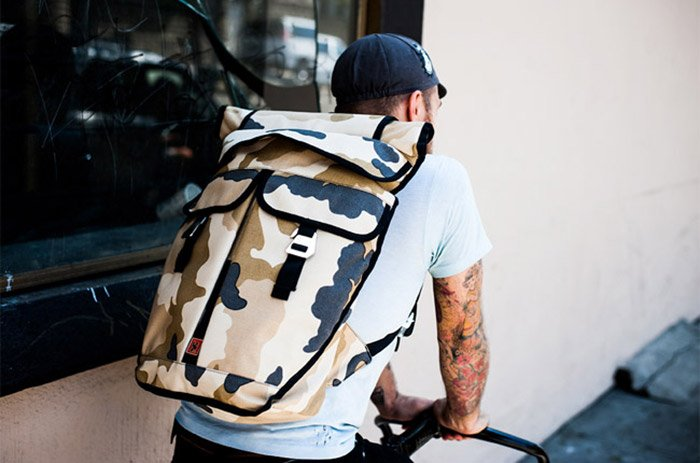 Orlov Reflective Camo Bag
